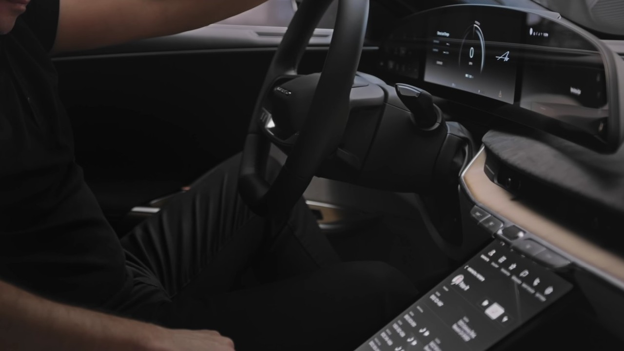 Lucid Motors tecnologia cabina UX Air Sedan