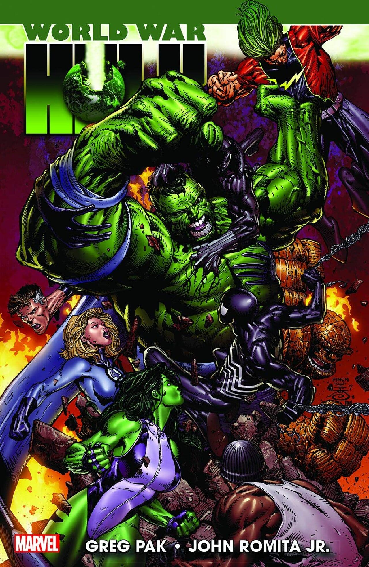 world war hulk marvel película