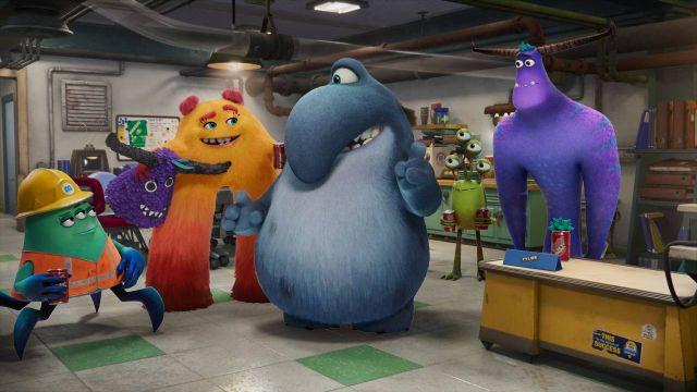 Serie Animada Monsters Inc Monsters at Work Pixar Disney+