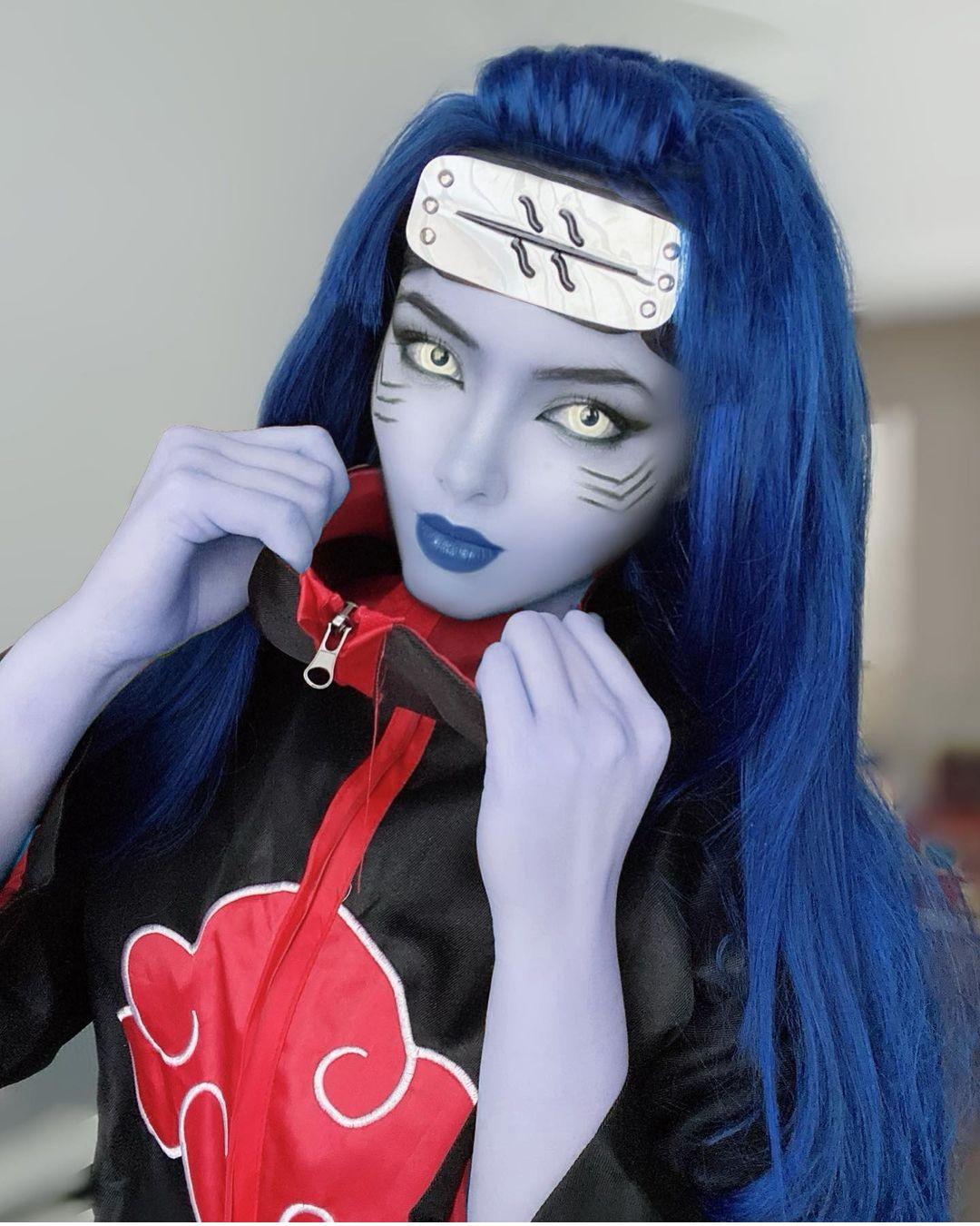 Naruto_ Cosplayer saca el lado más femenino de Kisame Hoshigaki (2)