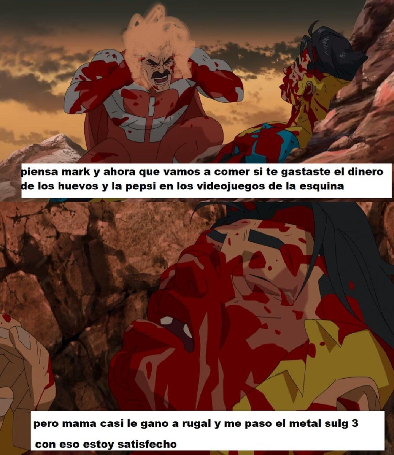 invincible meme amazon maquinitas mamá