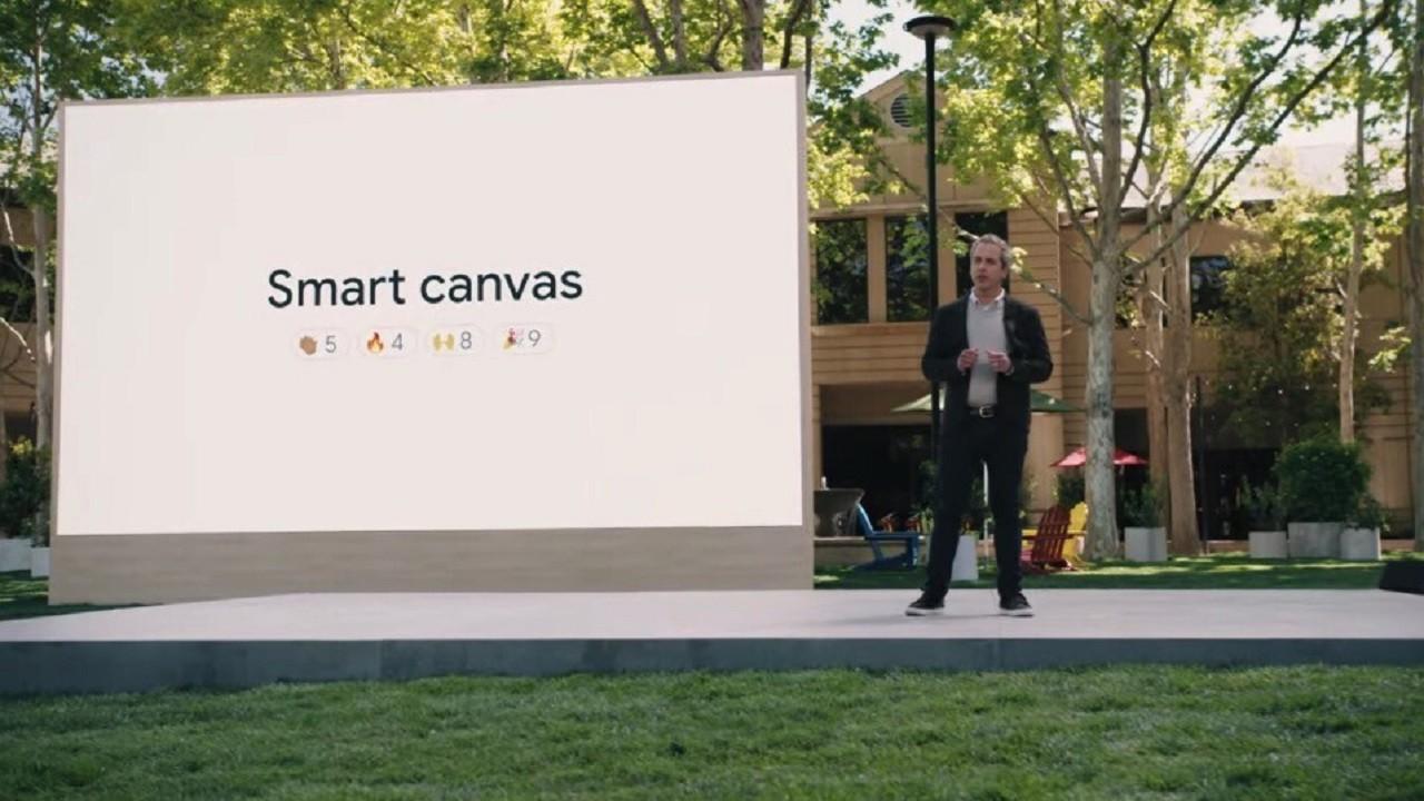 Google I / O Google Workspace Smart Canvas
