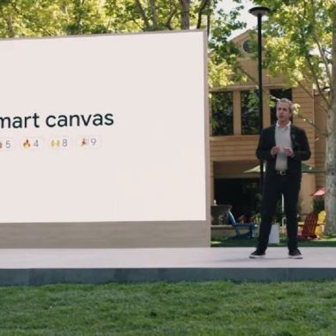 Google I / O Google Workspace Smart Canvas