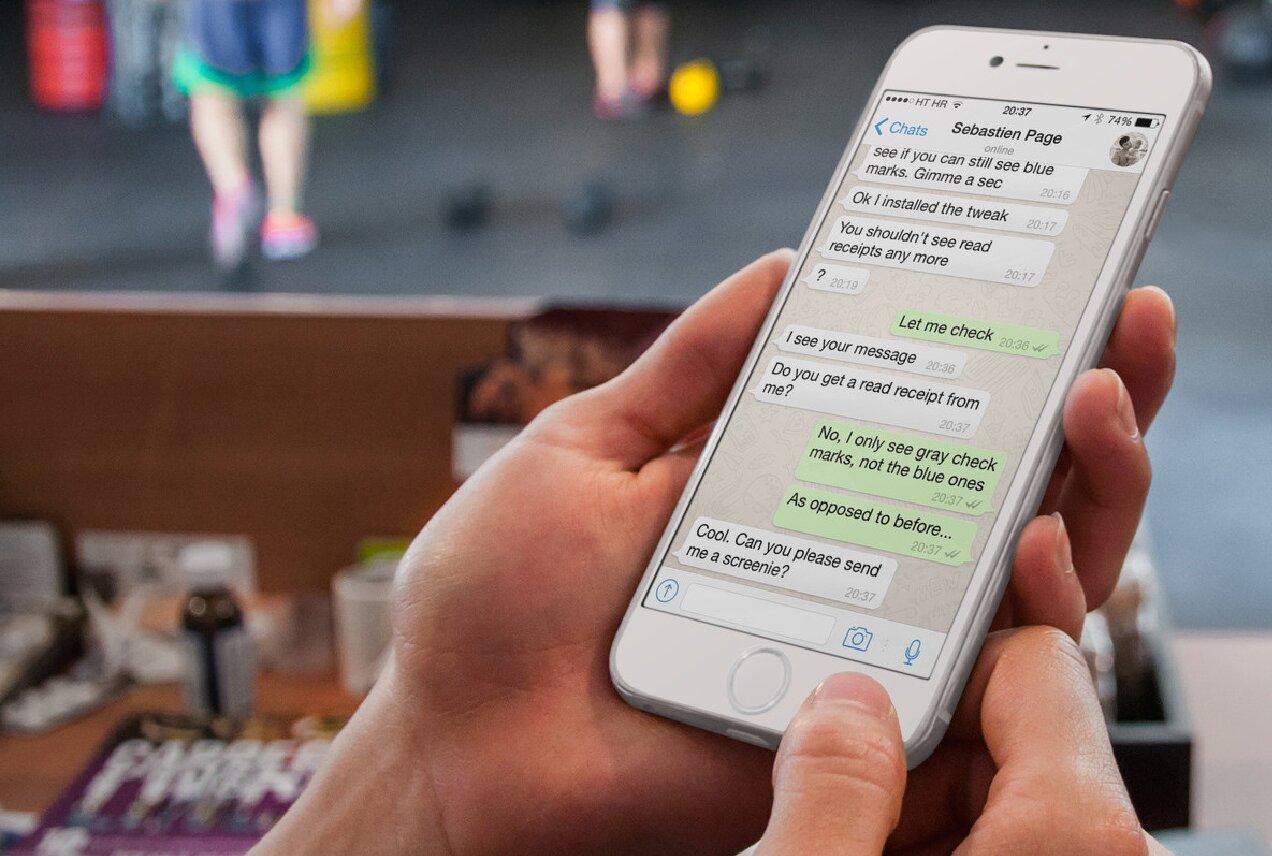 whatsapp función persona celular app archivar