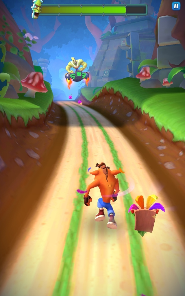 Crash on the Run Crash Bandicoot