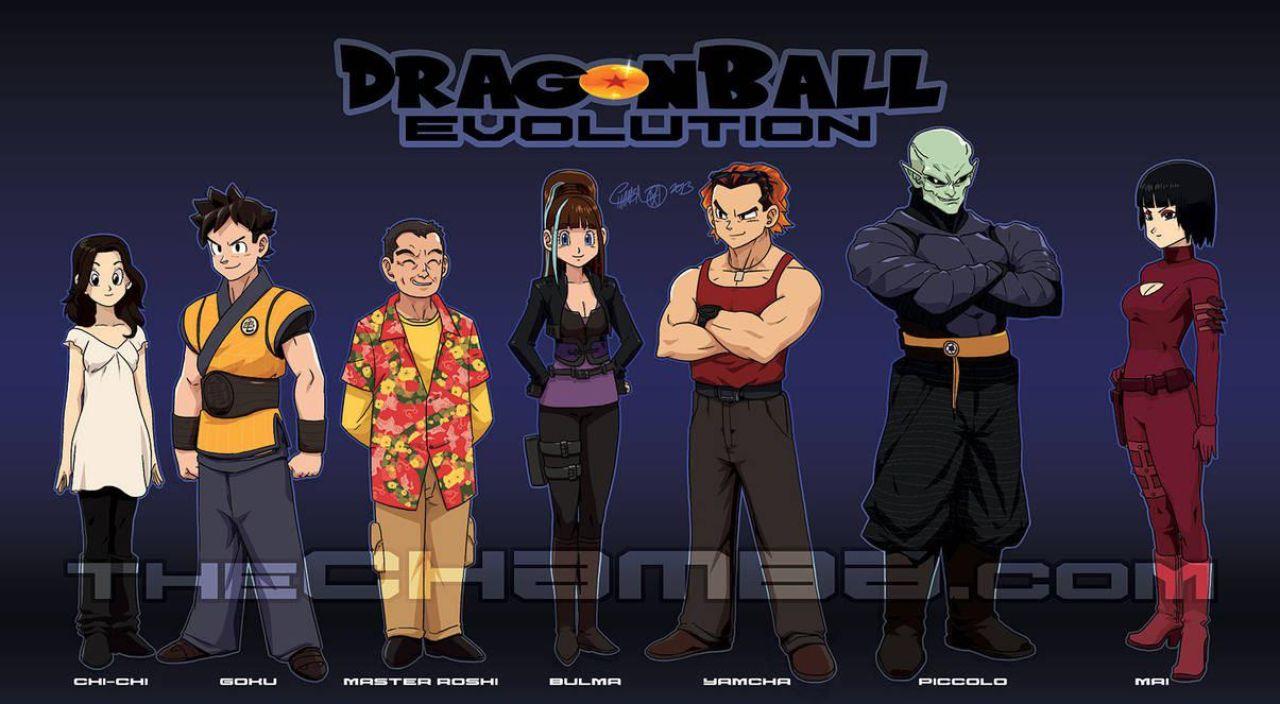 dragon ball evolution version anime