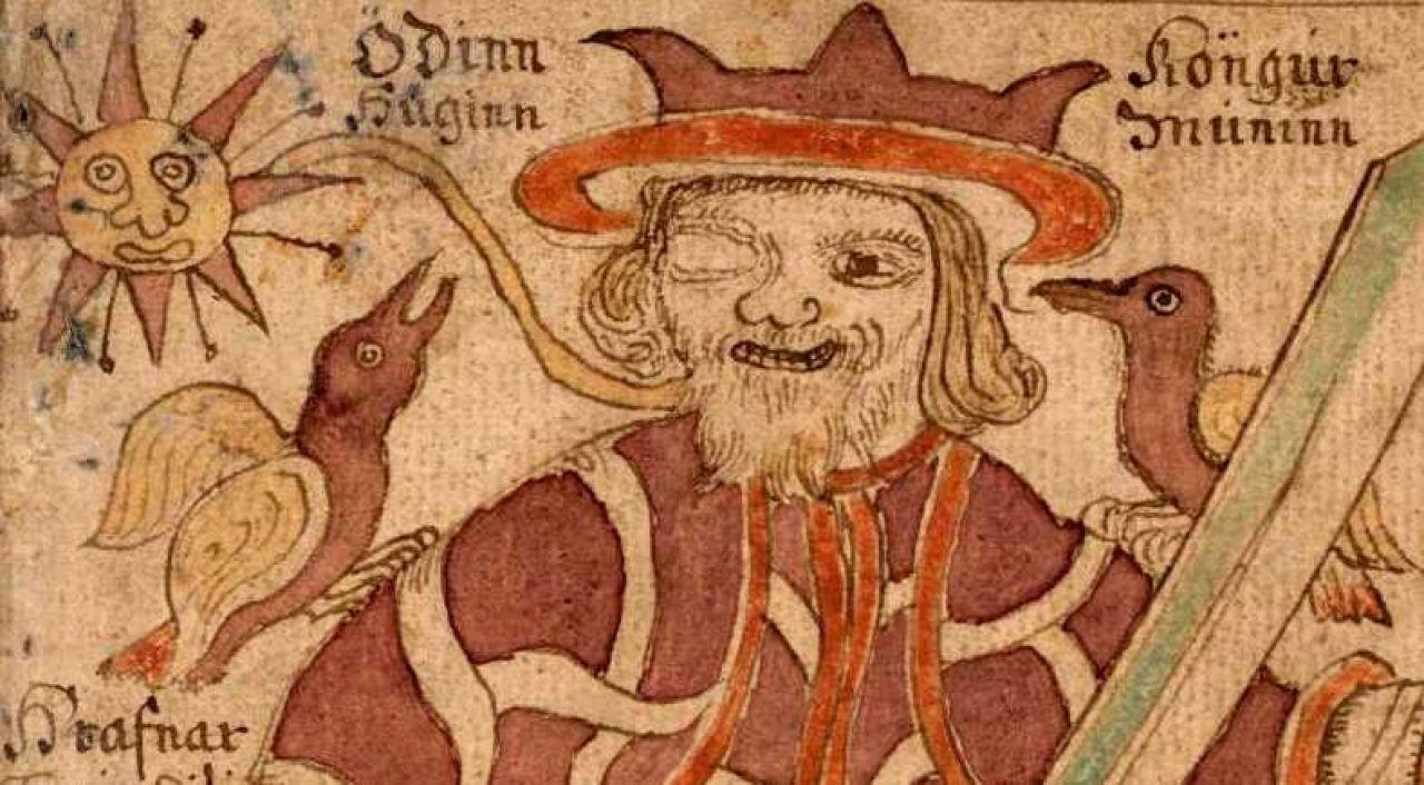 hugin and munin odin leyenda nórdica