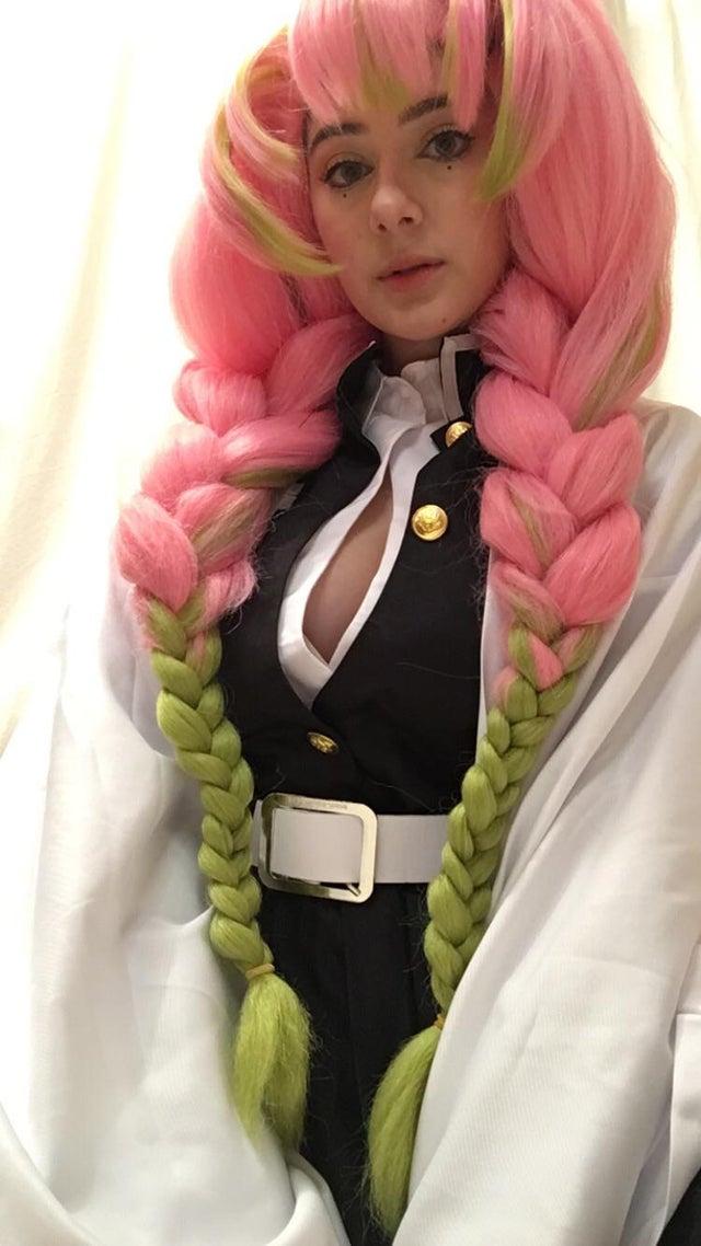 kimetsu no yaiba mitsuri kanroji cosplay