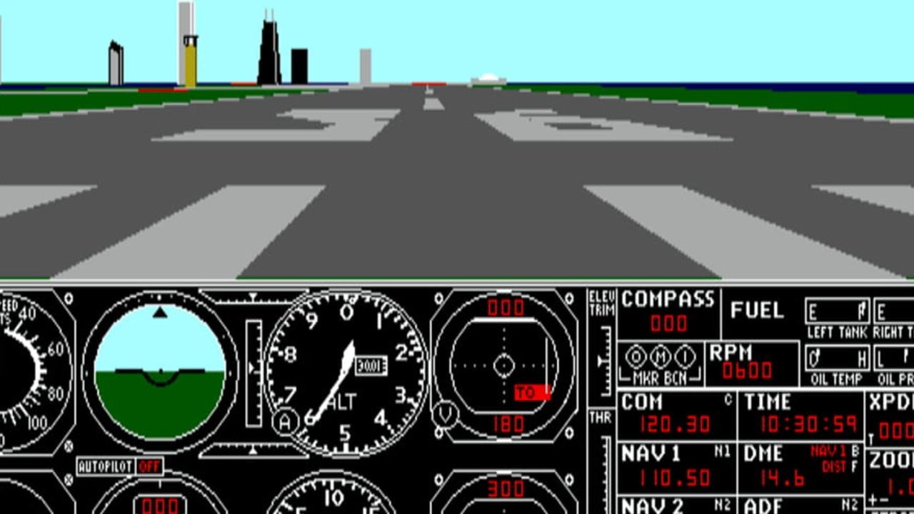 Microsoft Flight Simulator original