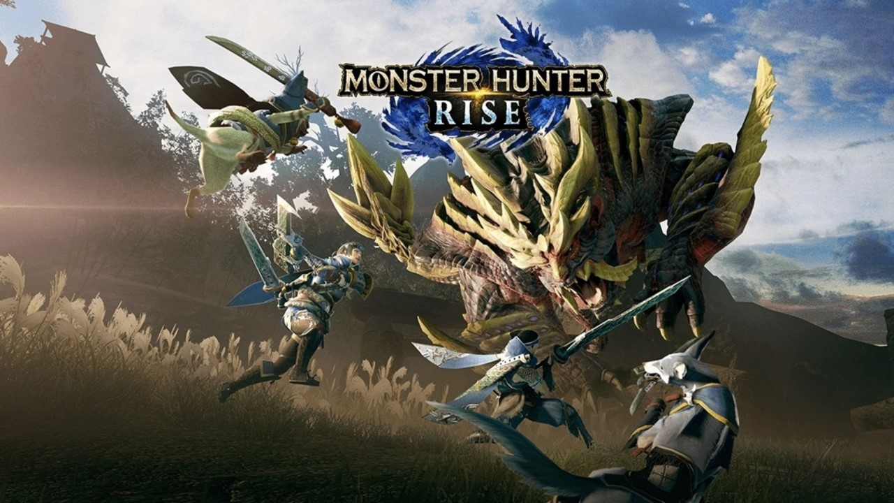Monster Hunter Rise Portada