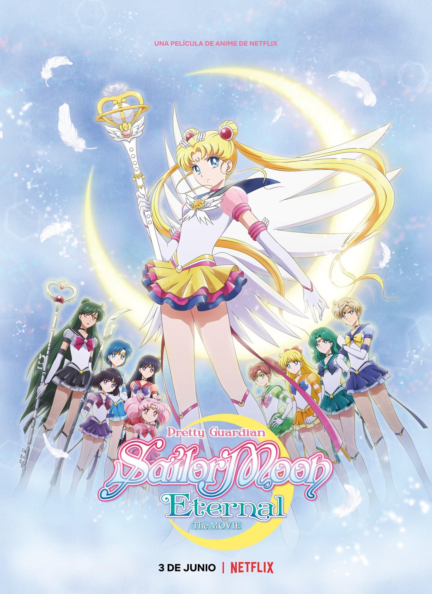 Netflix revela el tráiler y póster en español latino para la película Sailor Moon Eternal