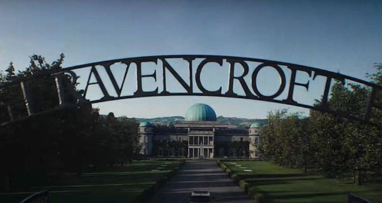 ravencroft trailer venom easter egg