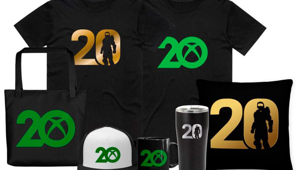 Xbox ofrecerá mercancía conmemorativa por su aniversario