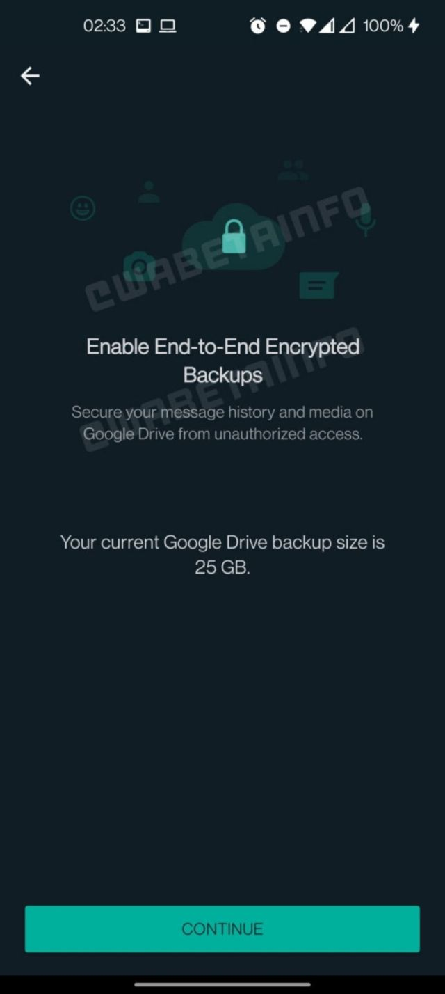 whatsapp copia de seguridad google drive