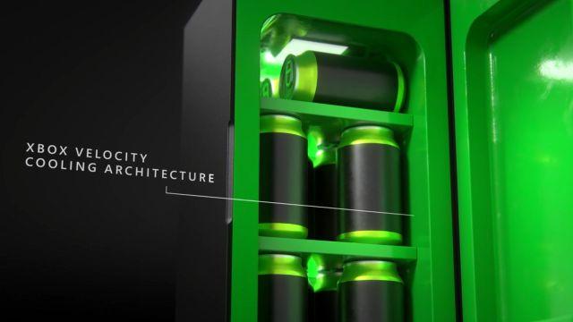 xbox series x refrigerador e3 2021