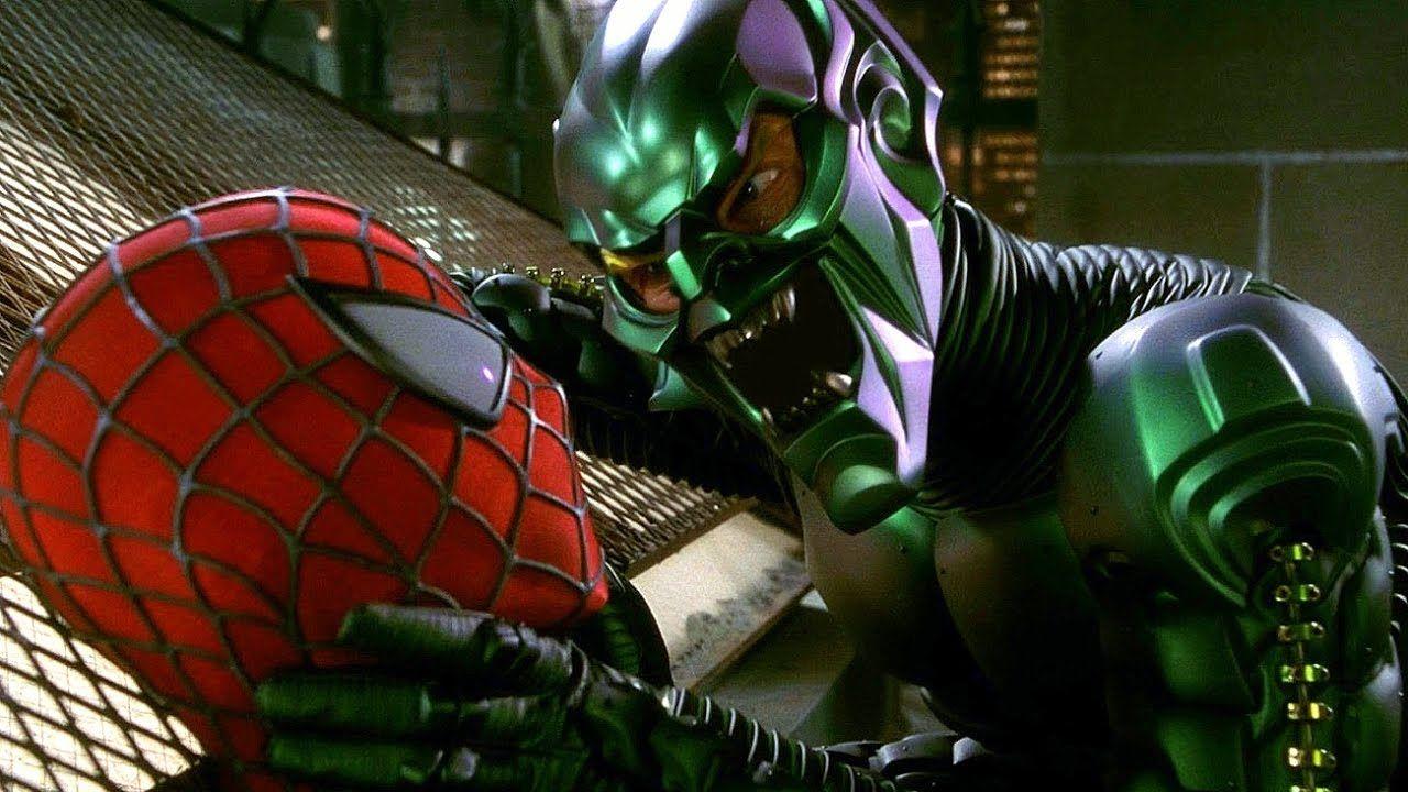 spiderman 2002 duende verde willem defoe