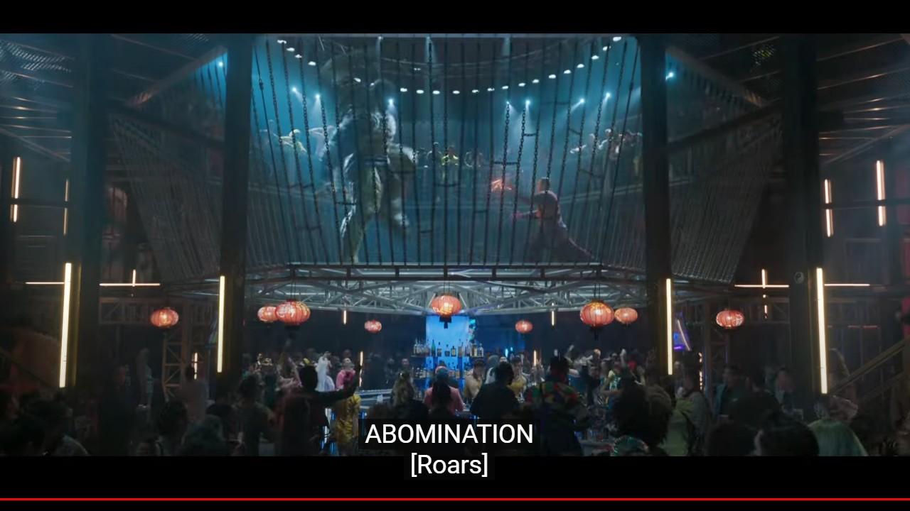 abomination shan chi trailer hulk mcu