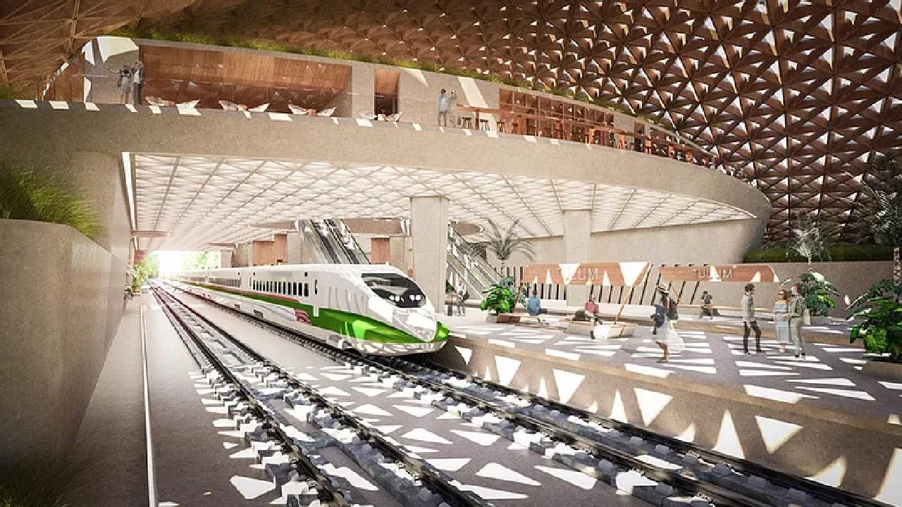 nueva estacion tren maya mexico