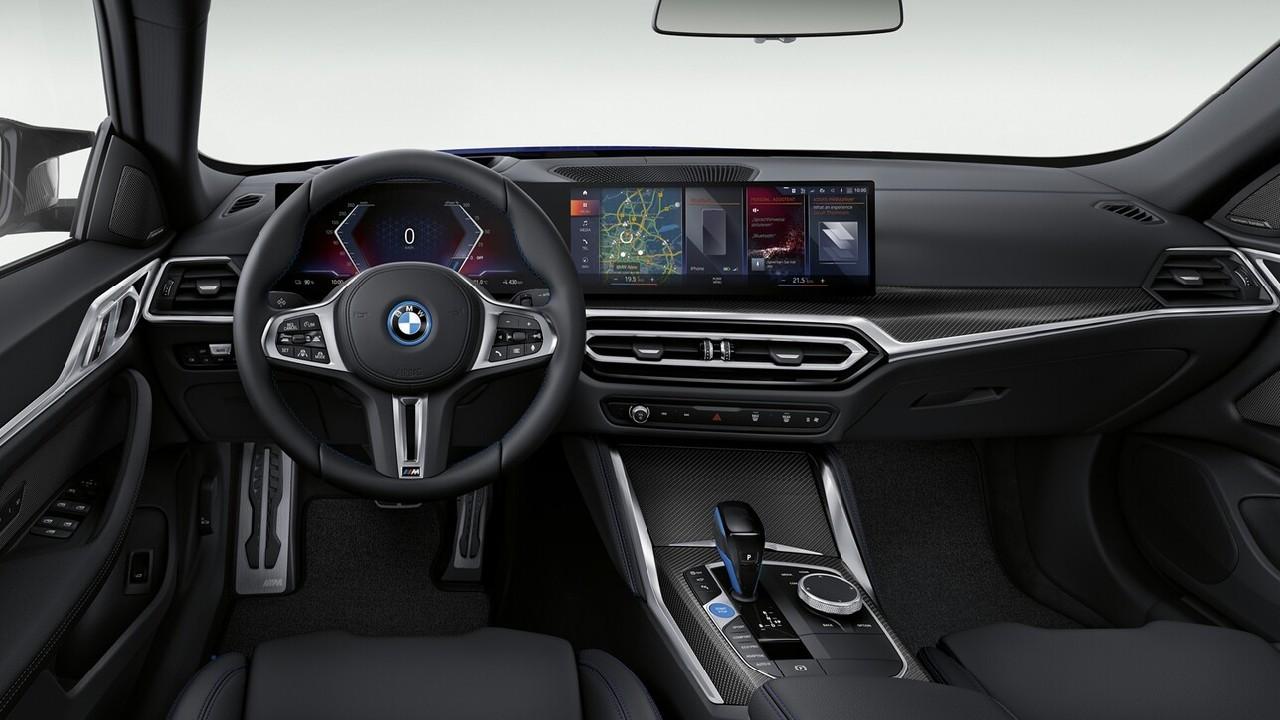 BMW vehículo electrico nuevo deportivo