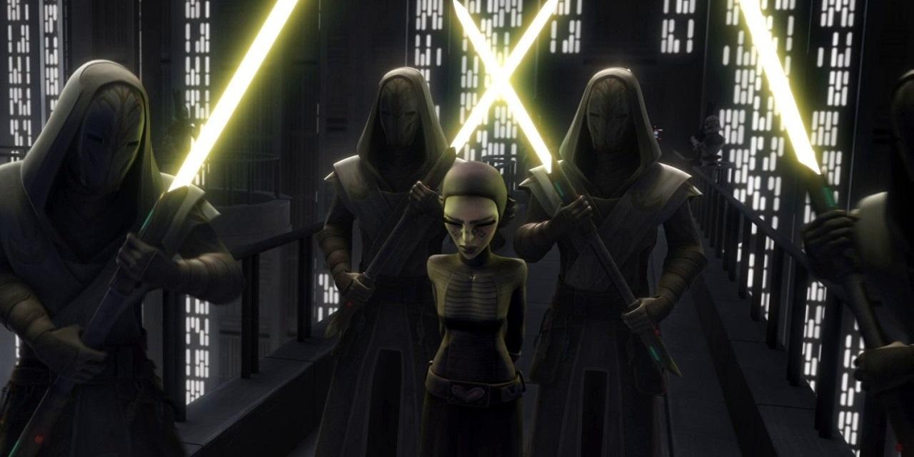 Barriss Offee Clone Wars Serie Ahsoka