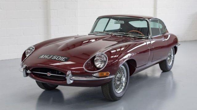 Jaguar electrico e type motor Auto