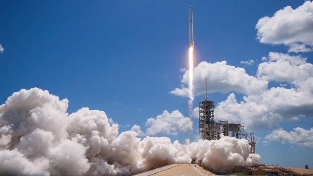 Cohete espacial nasa espacio motor propulsion