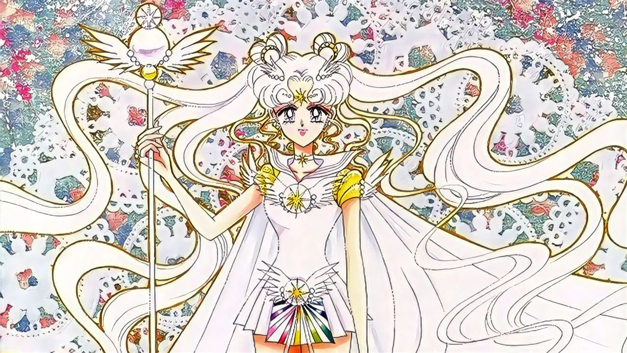 serena sailor moon sailor cosmos