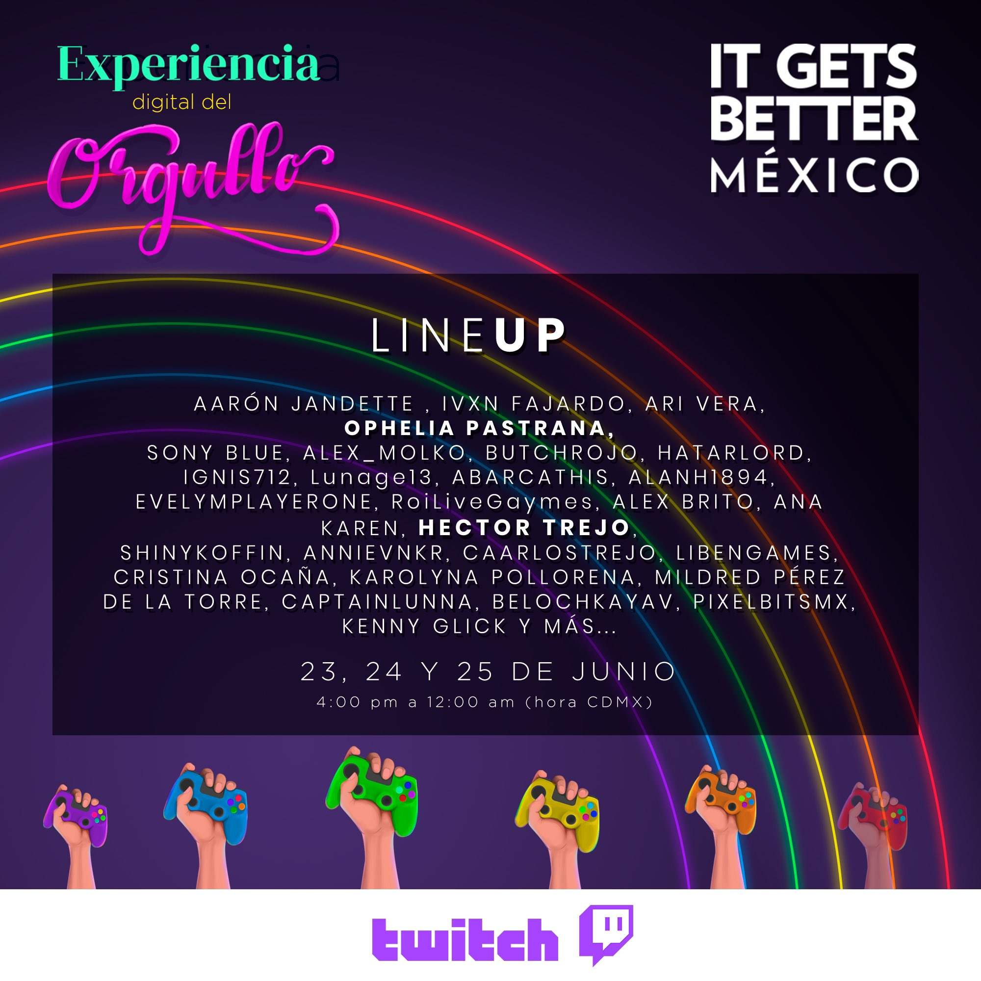 twitch evento gay mes del orgullo fechas