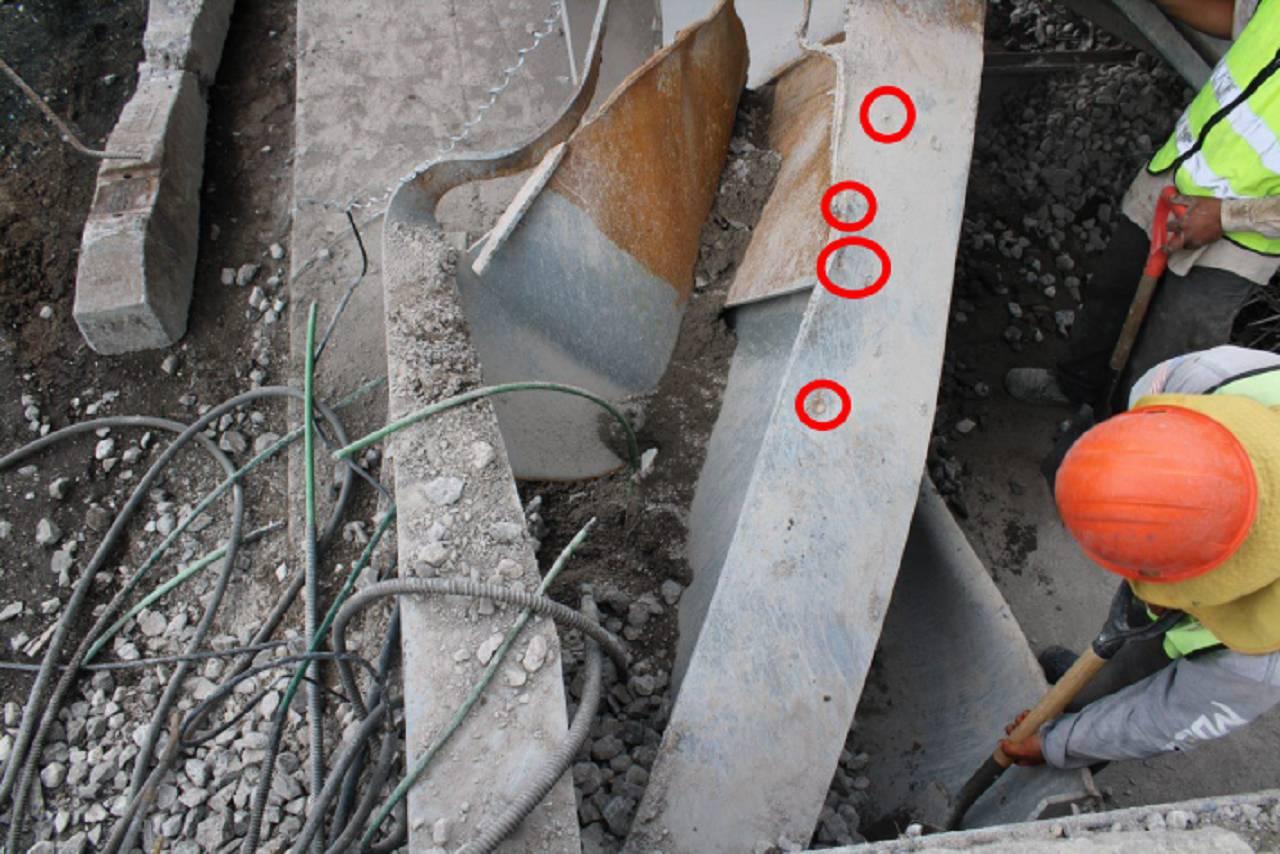 Falla Estructural Linea Metro 12 CDMX Pernos Nelson