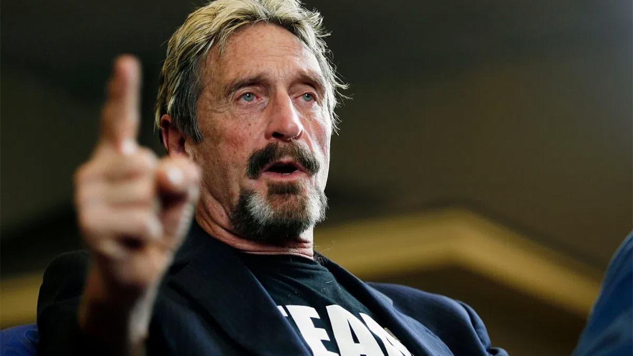 John mcafee antivirus muerto prision