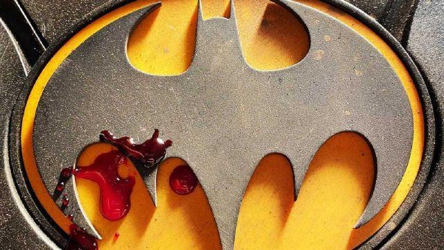 Emblema Clásico Batman Michael Keaton The Flash