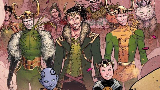 serie loki variantes comic marvel