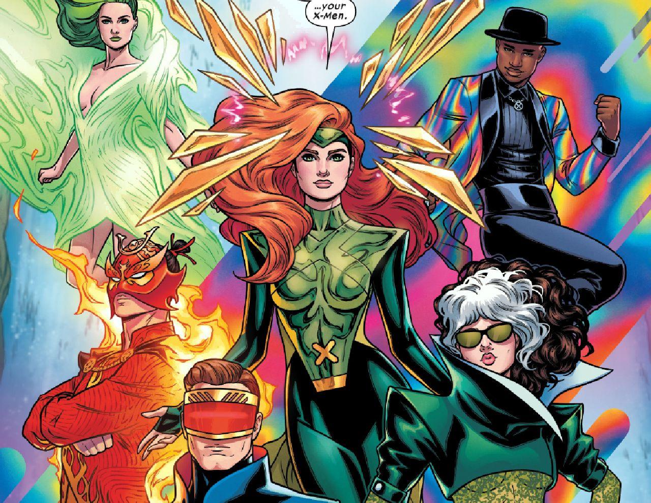 x-men comics nueva alineación jonathan hickman