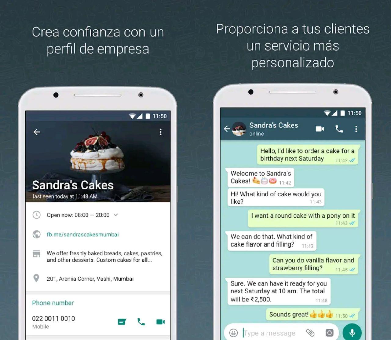 whatsapp business apk funciones app