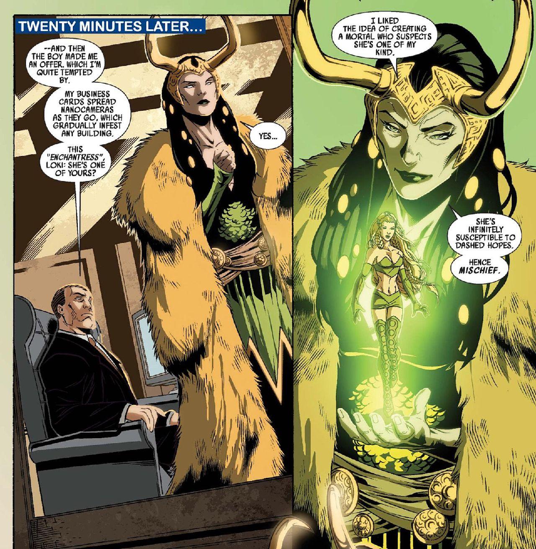 loki serie marvel comics lady loki enchantress