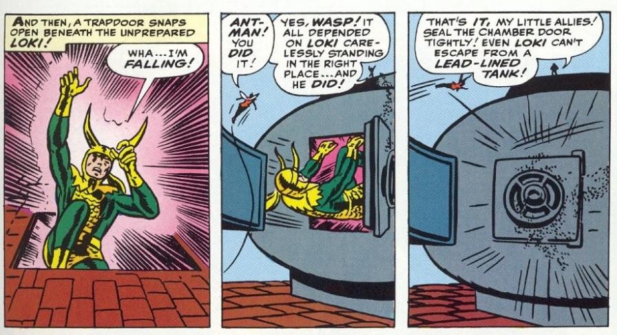 loki marvel vengadores 1 1963 comic