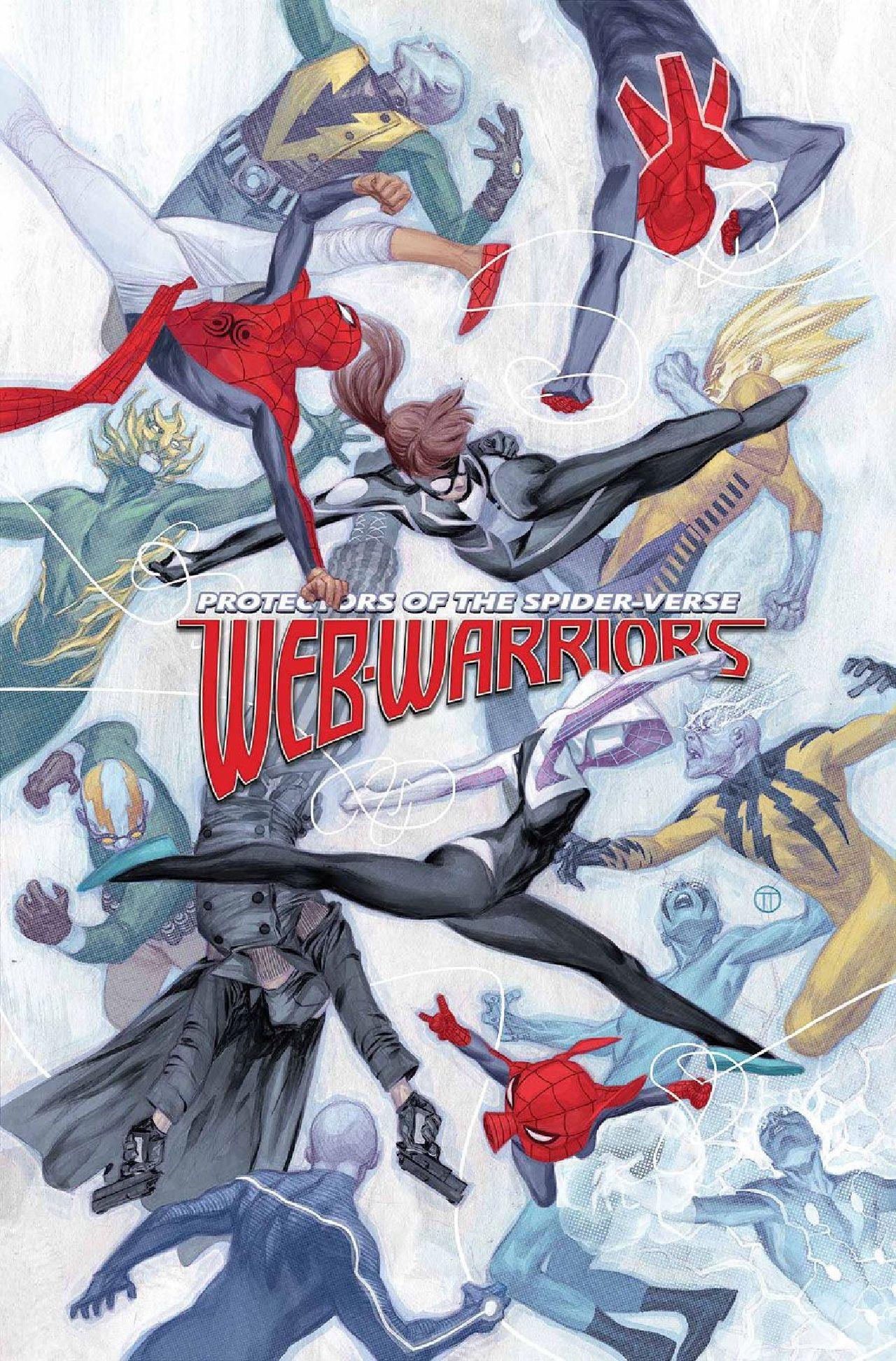 villanos de spiderman web warriors marve studios