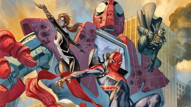spiderman 3 2021 web warriors