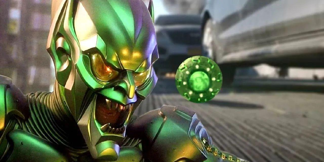 personajes de marvel duende verde