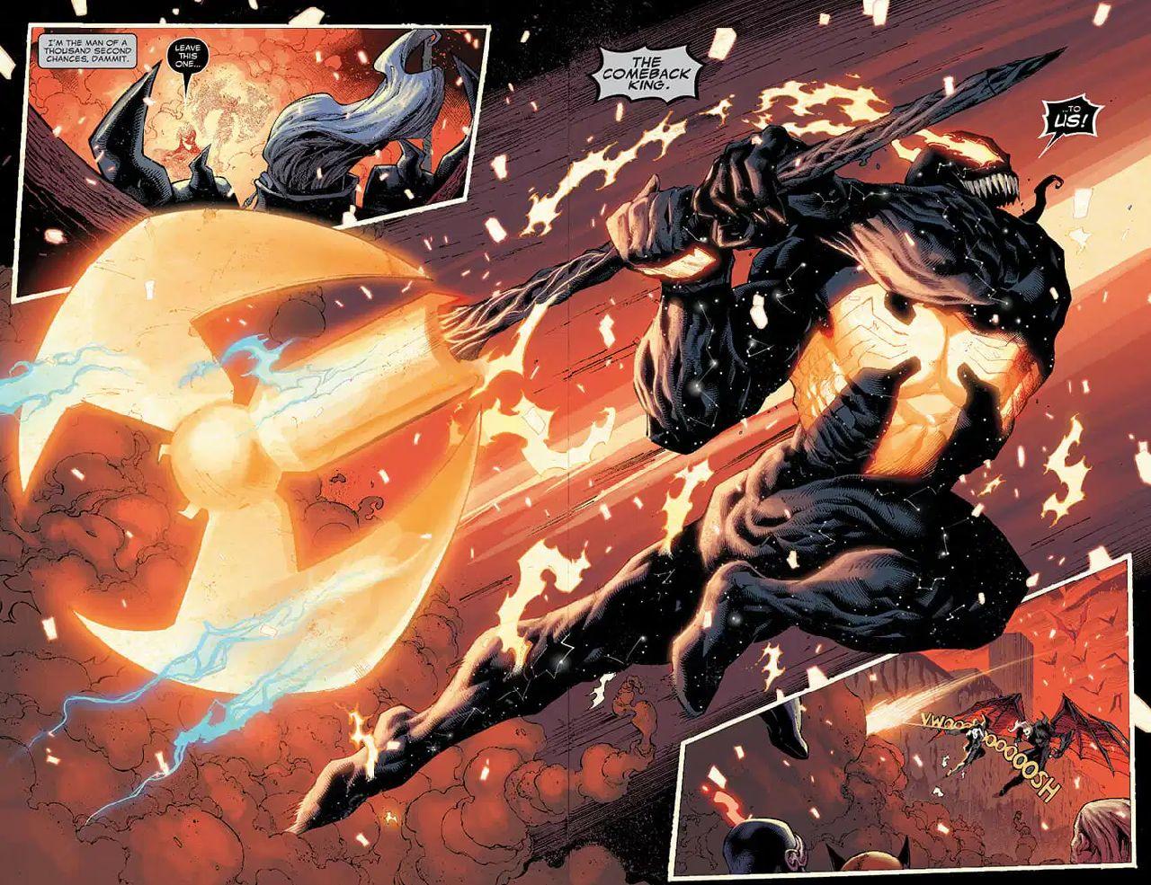 venom marvel comics eddie brock king in black #5