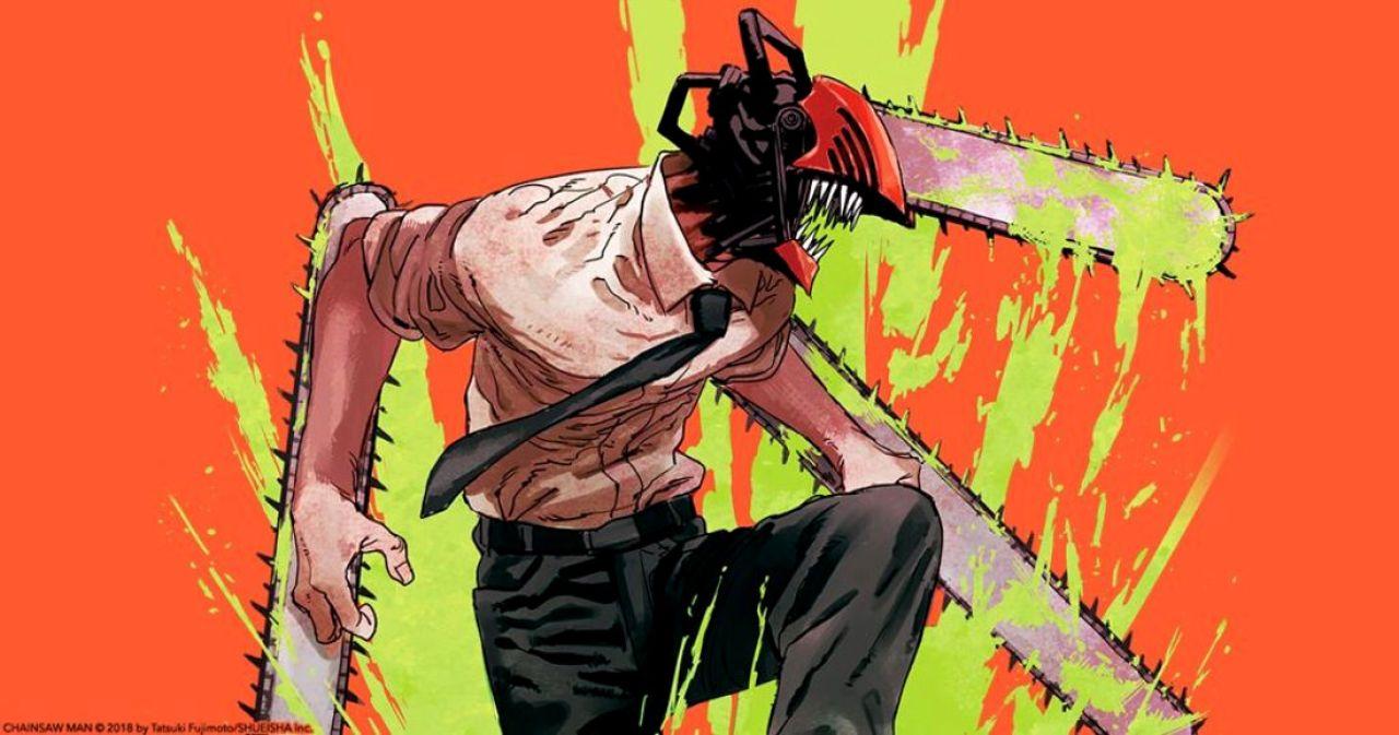 chainsaw man portada manga