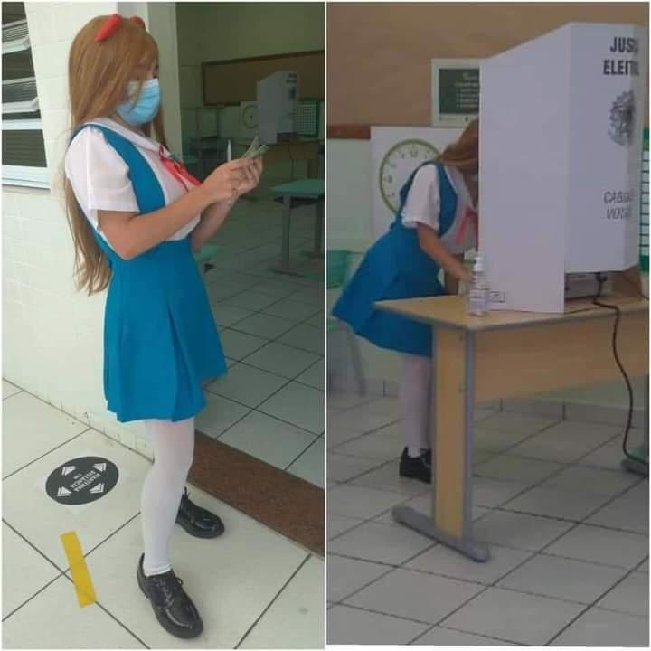 cosplay asuka evangelion elecciones