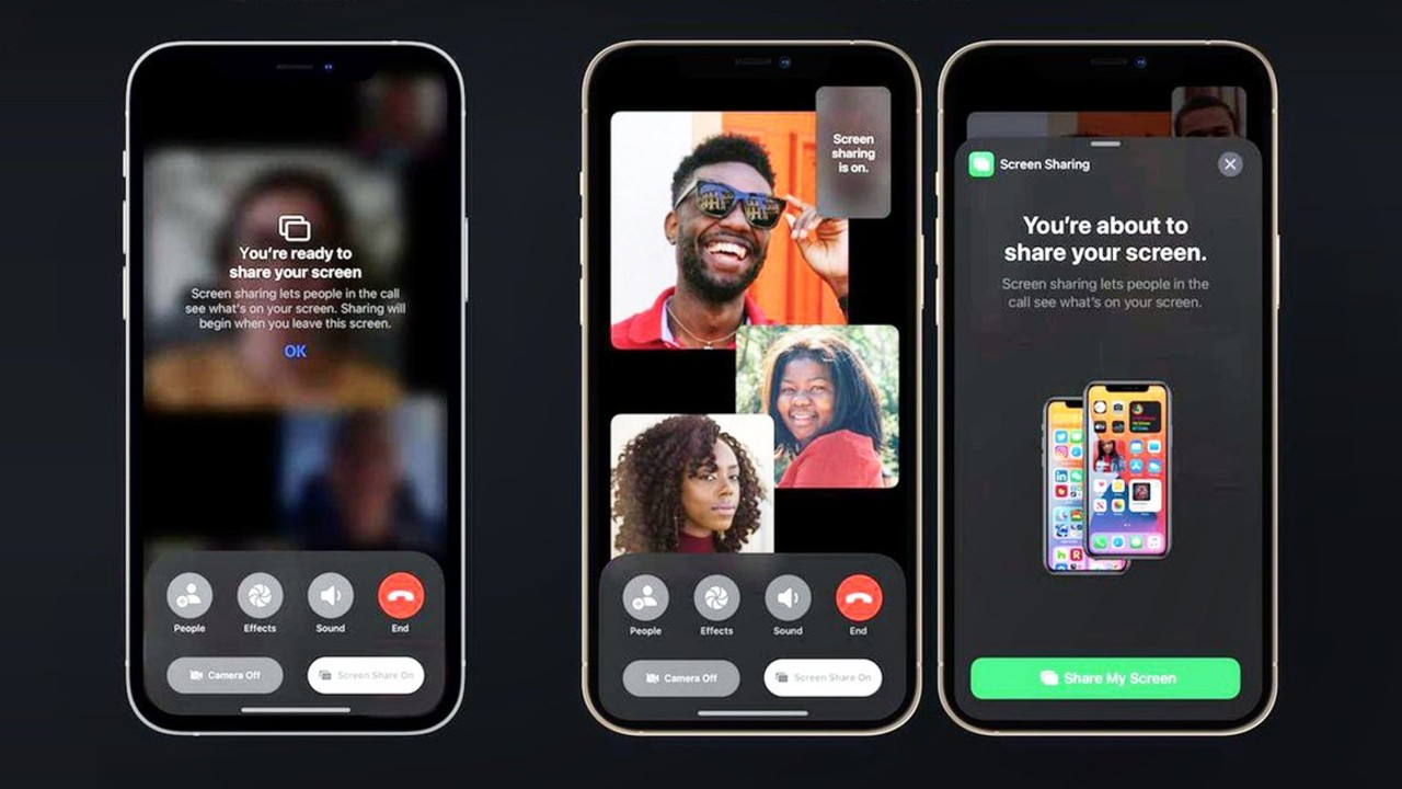 iOS 15 facetime apple android windows