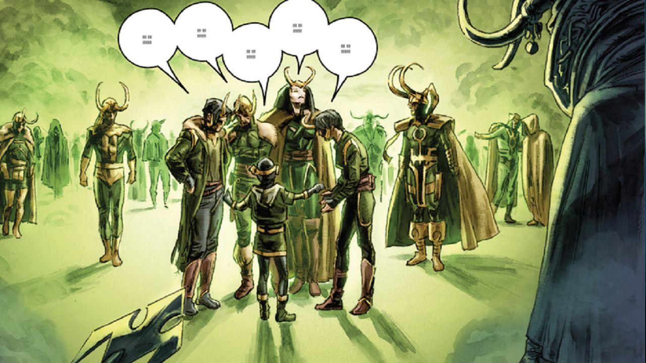 loki serie marvel variantes personaje