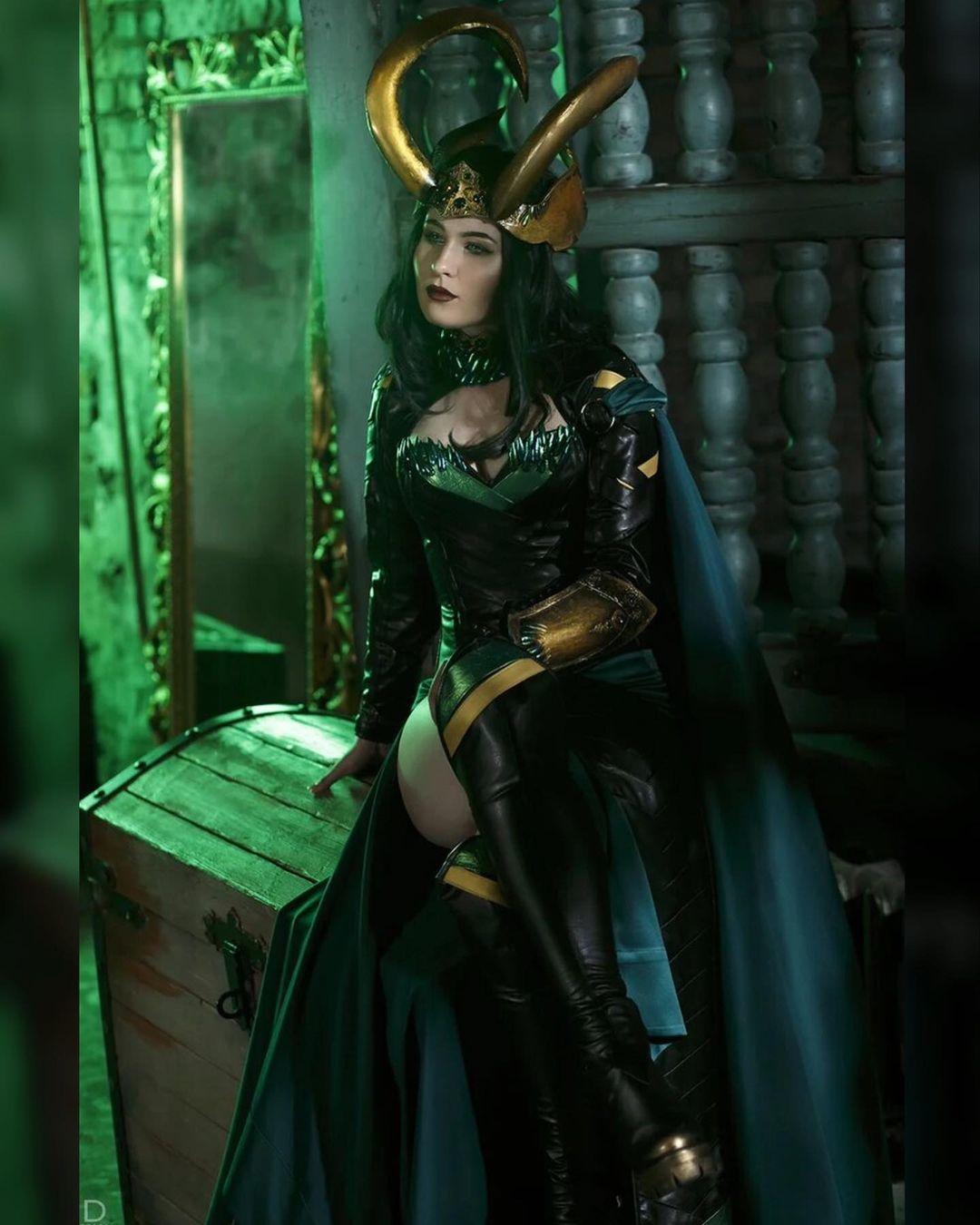 Marvel: Chica se convierte en Lady Loki gracias a este asombroso cosplay
