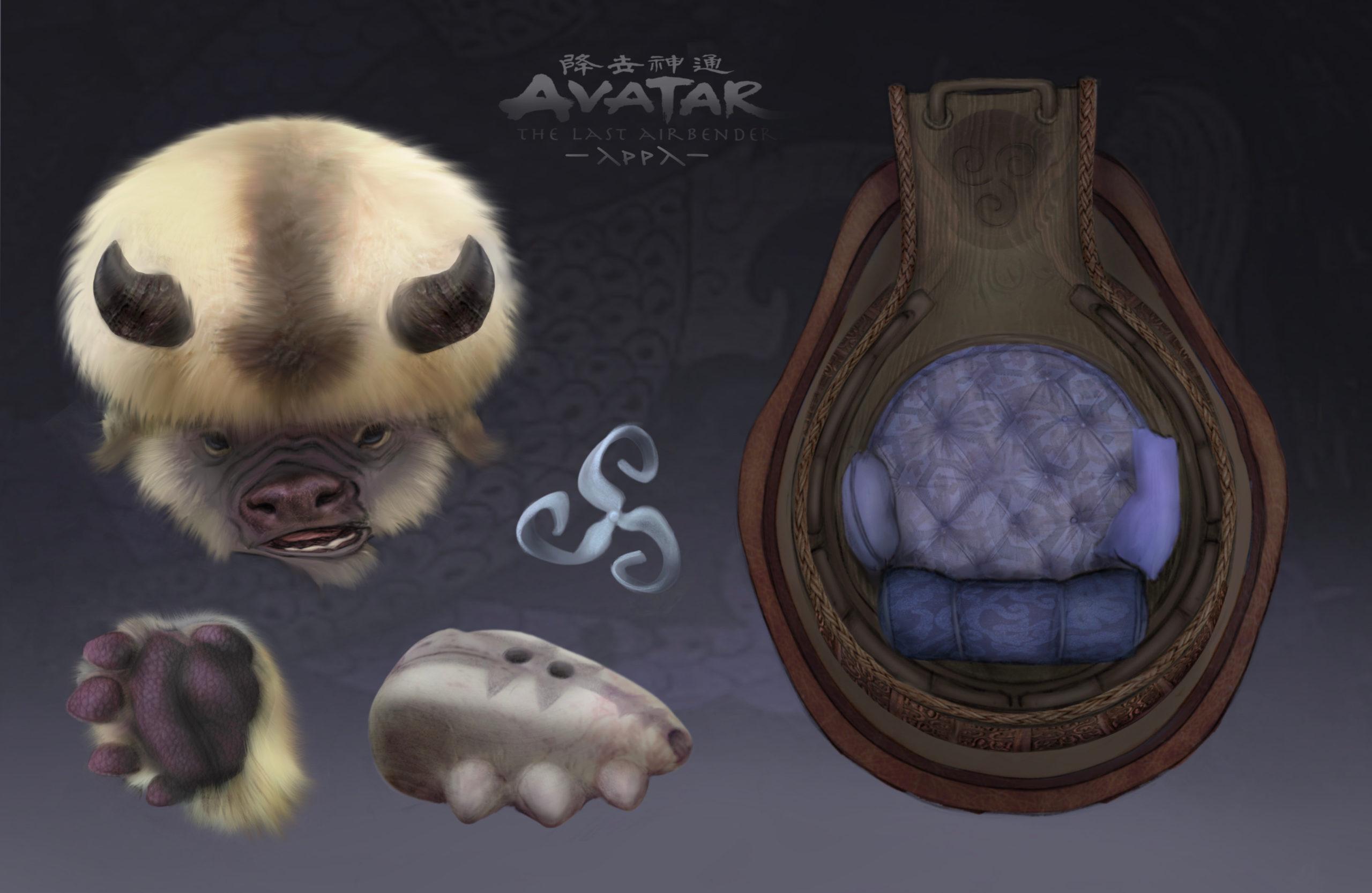 Avatar: Fanart revela cómo se vería Appa en la vida real
