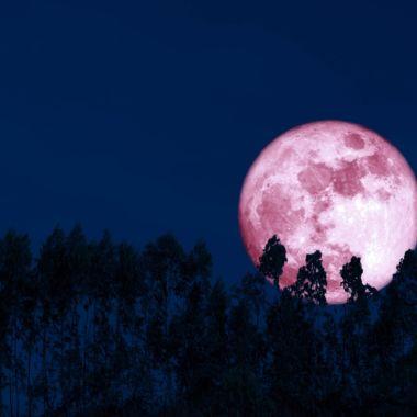 luna de fresa 2021 superluna junio