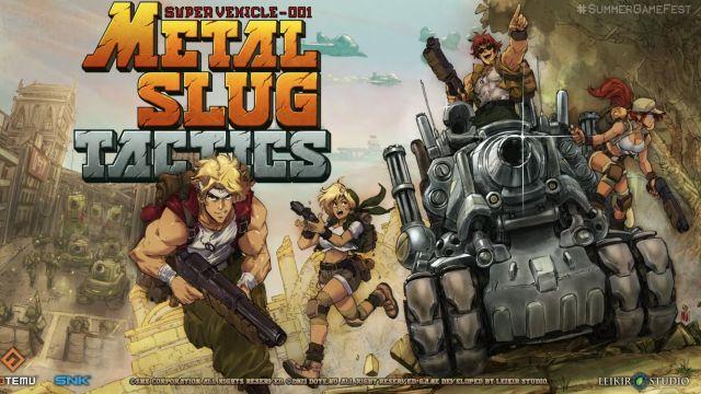 metal slug tactics videojuego estrategia