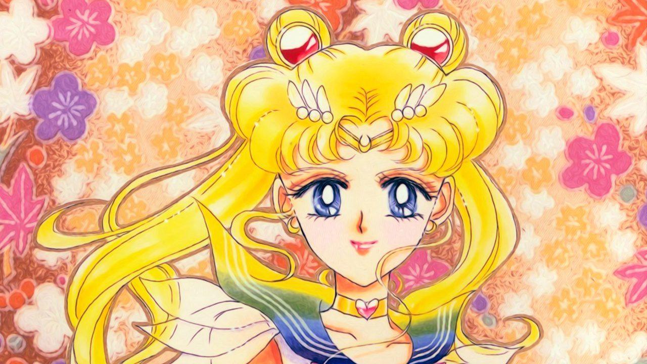 sailor moon manga portada original japonés