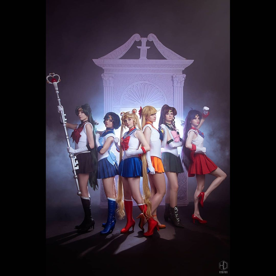 Sailor Moon: Las Sailor Scouts se reúnen a través de este cosplay grupal